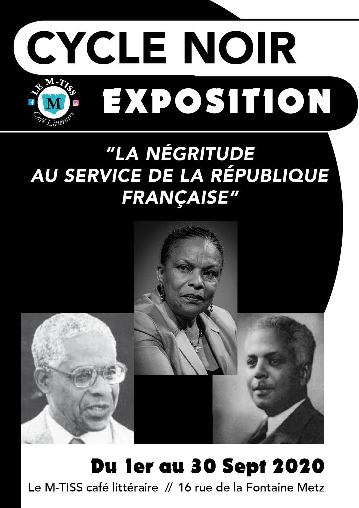 Expo Négritude affiche